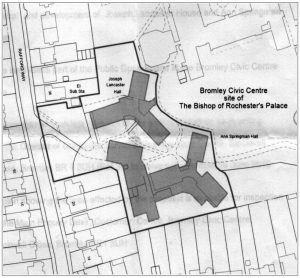 delineated area to be sold, the bottom right quarter of the previous map.