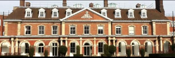 Victorian Georgian-style facaded building