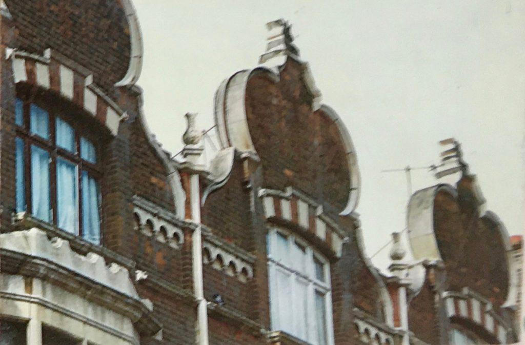 elaborate turban shaped dutch gables
