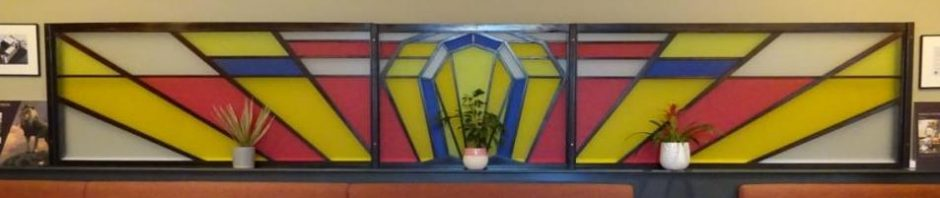 restored art deco screen
