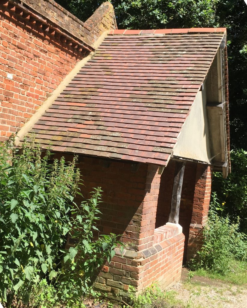 summery porch