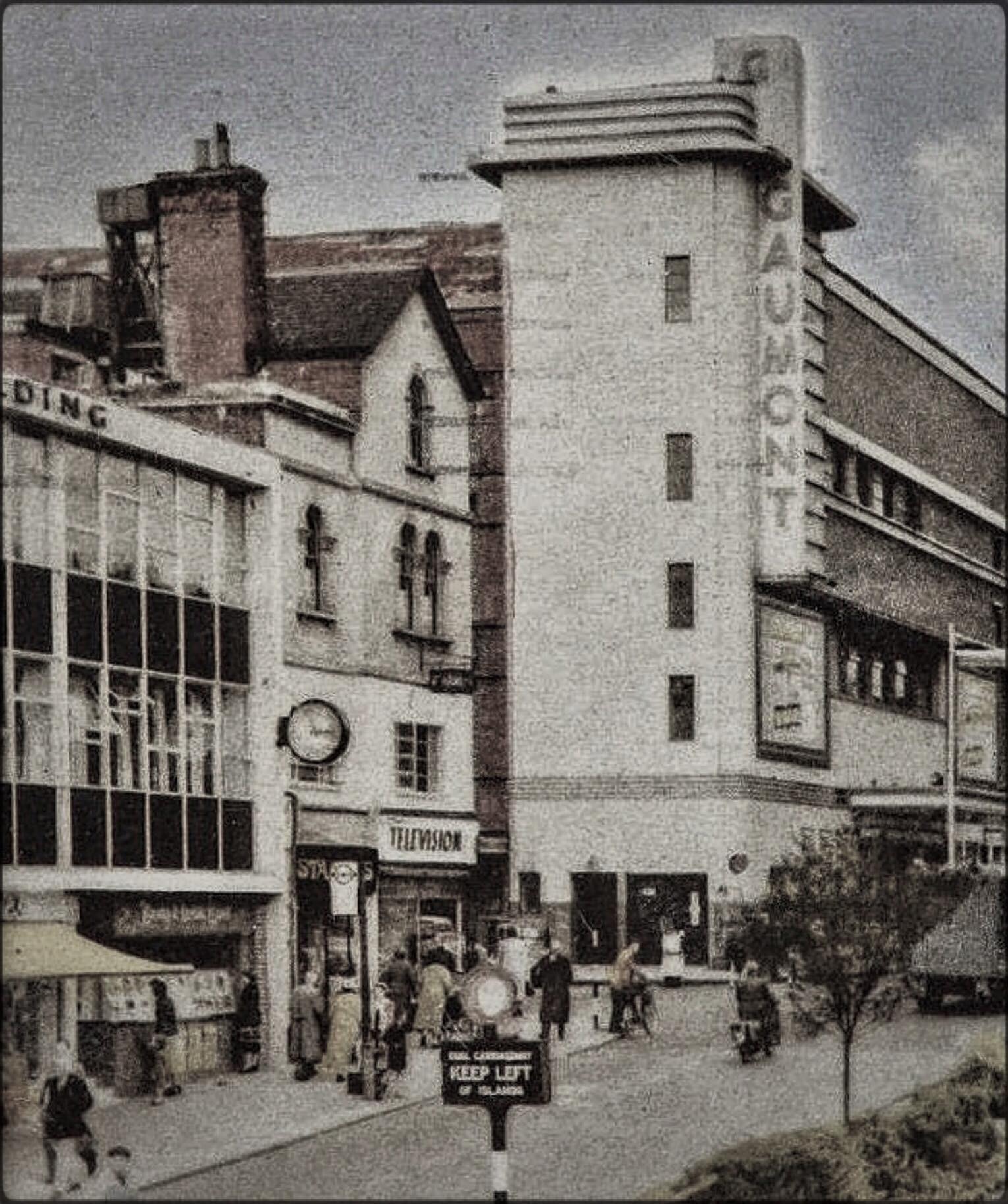 Gaumont Cinema on high street